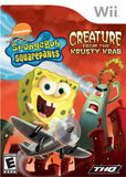 SpongeBob SquarePants: Creature from the Krusty Krab (Nintendo Wii)