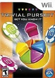 Trivial Pursuit: Bet You Know It (Nintendo Wii)