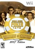 World Series of Poker: Tournament of Champions 2007 Edition (Nintendo Wii)