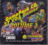Game Pack CD: 37 VGA Games Vol. 2 (PC)