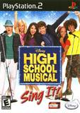 High School Musical: Sing It! (PlayStation 2)