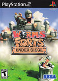 Worms Forts: Under Siege! (PlayStation 2)