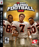 All-Pro Football 2K8 (PlayStation 3)