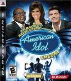 Karaoke Revolution Presents: American Idol: Encore (PlayStation 3)