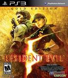 Resident Evil 5 -- Gold Edition (PlayStation 3)
