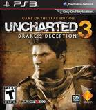 Uncharted 3: Drake's Deception -- Game of the Year Edition (PlayStation 3)