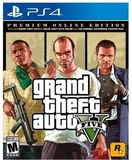 Grand Theft Auto V: Premium Online Edition (PlayStation 4)