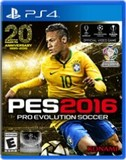 PES 2016: Pro Evolution Soccer (PlayStation 4)