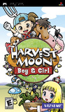 Harvest Moon: Boy & Girl -- Manual Only (PlayStation Portable)