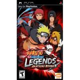 Naruto Shippuden: Legends: Akatsuki Rising (PlayStation Portable)