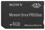 Sony Memory Stick PRO Duo -- 4GB (PlayStation Portable)