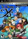 Ys Seven -- Premium Edition (PlayStation Portable)