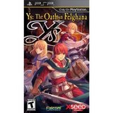Ys: The Oath in Felghana (PlayStation Portable)