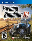 Farming Simulator 16 (PlayStation Vita)