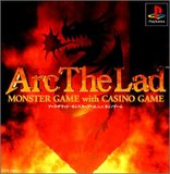 Arc the Lad Monster Game with Casino Game (PlayStation)