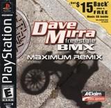 Dave Mirra Freestyle BMX: Maximum Remix (PlayStation)