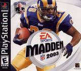 Madden NFL 2003 (PlayStation)