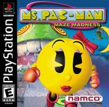 Ms. Pac-Man Maze Madness (PlayStation)