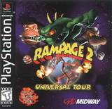 Rampage 2: Universal Tour (PlayStation)