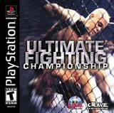Ultimate Fighting Championship (PlayStation)