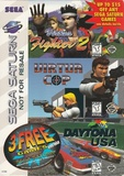 Sega Saturn Virtua Fighter 2, Virtua Cop, Daytona USA Pack (Saturn)