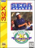 Golf Magazine Presents 36 Great Holes Starring Fred Couples (Sega 32X)