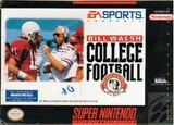 Bill Walsh College Football (Super Nintendo)