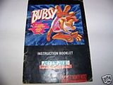 Bubsy -- Manual Only (Super Nintendo)