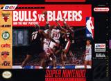 Bulls vs. Blazers and the NBA Playoffs (Super Nintendo)