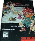 Chrono Trigger -- Manual Only (Super Nintendo)