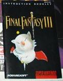 Final Fantasy III -- Manual Only (Super Nintendo)