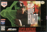 Frank Thomas: Big Hurt Baseball (Super Nintendo)