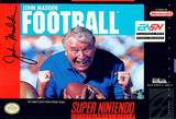 John Madden Football (Super Nintendo)