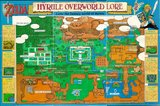 Legend of Zelda: A Link to the Past, The -- Map Only (Super Nintendo)