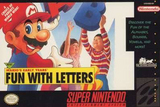 Mario's Early Years: Fun with Letters (Super Nintendo)
