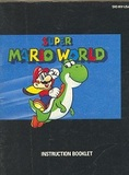 Super Mario World -- Manual Only (Super Nintendo)
