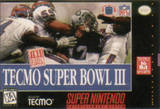 Tecmo Super Bowl III -- Final Edition (Super Nintendo)