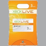 Xbox Live Subscription Card -- 3 Months (Xbox 360)