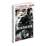 Metal Gear Solid: Peace Walker -- Prima Essential Guide (guide)