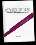 Space Quest: The Sarien Encounter -- EGA Hint Book (guide)