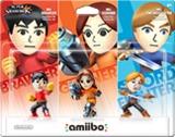 Amiibo -- Mii Brawler / Mii Gunner / Mii Swordfighter - 3 Pack (Super Smash Bros. Series) (other)