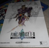 Final Fantasy I & II: Dawn of Souls -- Poster (other)