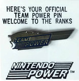 Pin -- Silver Team Power (other)