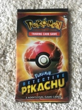 Pokemon Trading Card Game Detective Pikachu Promo Pack (other)