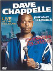 Dave Chappelle: For What It's Worth (DVD)
