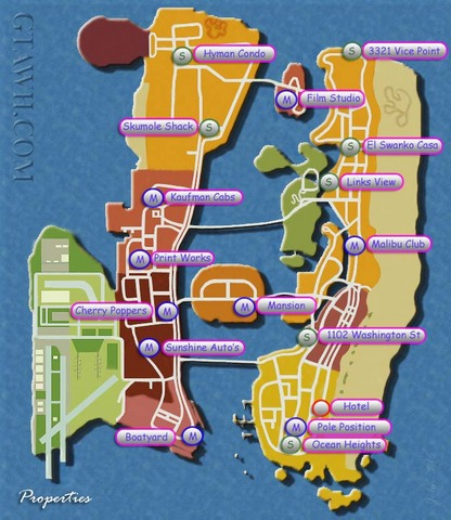 Grand Theft Auto: Vice City -- Map Only (PlayStation 2) Review