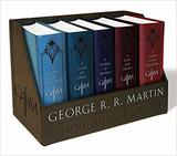 Game of Thrones / A Clash of Kings / A Storm of Swords / A Feast for Crows / A Dance with Dragons (Song of Ice and Fir,  (George R. R. Martin)