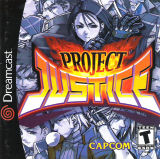 Project Justice -- Manual Only (Dreamcast)