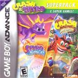 Crash & Spyro Superpack (Game Boy Advance)