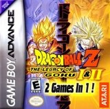 Dragon Ball Z: The Legacy of Goku I & II (Game Boy Advance)